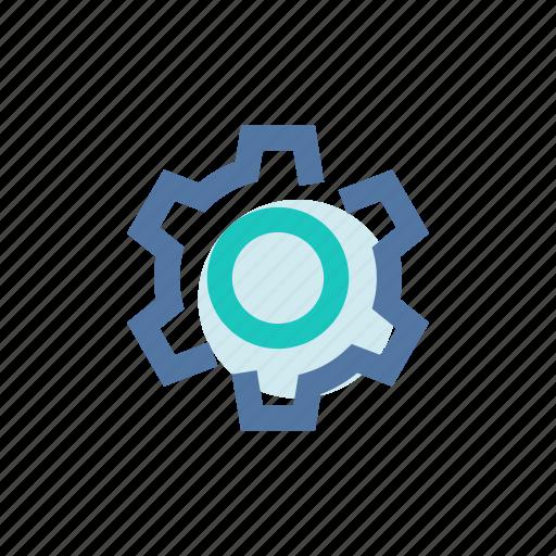 backoffice, gear, maintenance, mobile, settings, ui, wheel icon