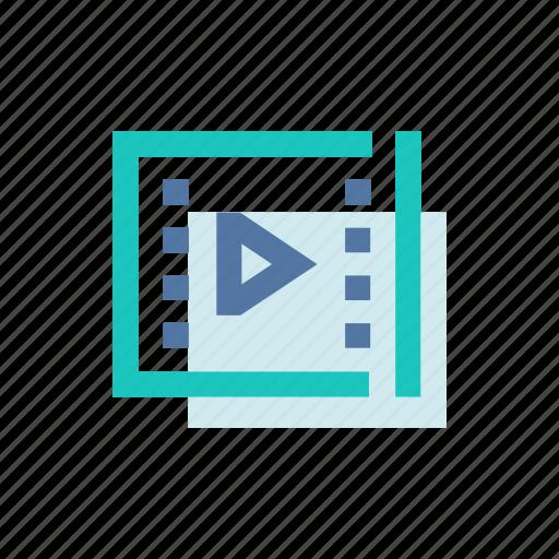 file, film, mobile, movie, play, ui, video icon