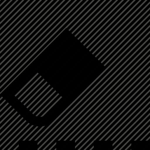 delete, design, erase, eraser icon