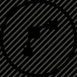 curve, edit, node, nodes, object, path, round icon