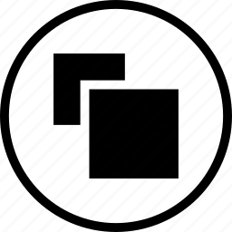 clone, copy, design, duplicate, shape, square icon
