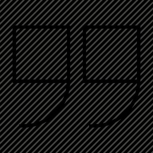 comment, edit, quote, testimonial icon
