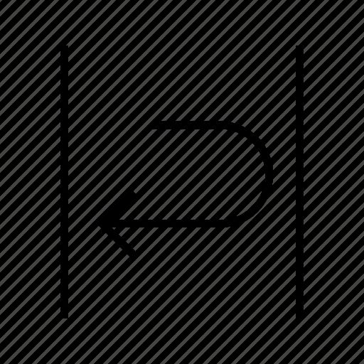 edit, text, wrap icon