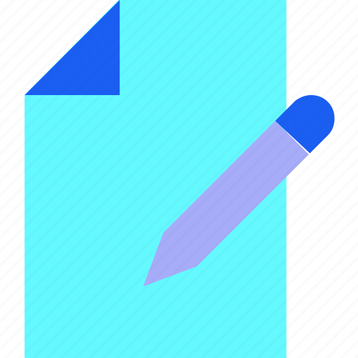 editorial, email, letter, message, text, write, writing icon