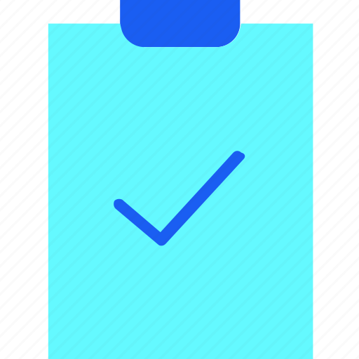 checklist, clipboard, document, editorial, file, list, sheet icon