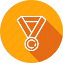 achievement, award, medal, reward, star icon