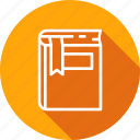 book, catalog, education, learning, mark, reading icon