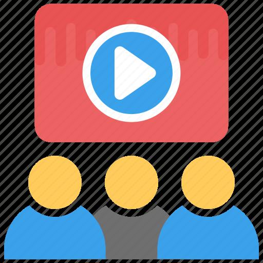 e-learning, video tutorial, virtual classroom, virtual training, virtual training lab icon