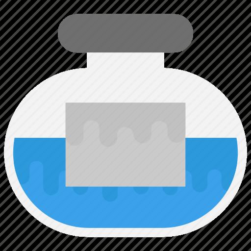 bottle, experiment, jar, jar of glass, lab sample icon