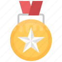 1st position, medal badge, position holder, star medal, winner badge icon