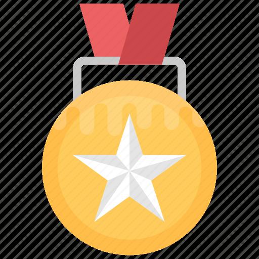 1st position, medal badge, position holder, star medal, winner badge icon