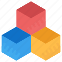 colored boxes, boxes, blocks, cube boxes, cubic boxes