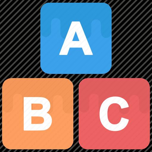 3d blocks, blocks, colorful blocks, construction toy, shapes blocks, toys icon