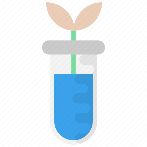 biological research, biological science, biotechnology, botany lab, lab experiment icon