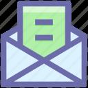 .svg, email, envelope, letter, open, open envelope, open letter icon