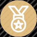 .svg, award, medal, prize, quality, reward, ribbon icon