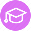.svg, cap, degree, diploma, education, graduation, graduation cap icon