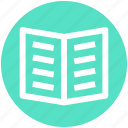 .svg, book, education, open book, reading, study