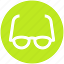 .svg, eye, glasses, optics, read, study, view
