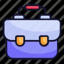 briefcase, business, occupation, portfolio, education, bag