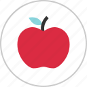 apple, eat, fruit, healthy, teacher icon