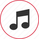 audio, compose, music, note icon