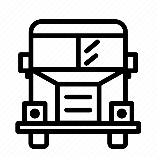 autobus, bus, car, coach, public, school icon