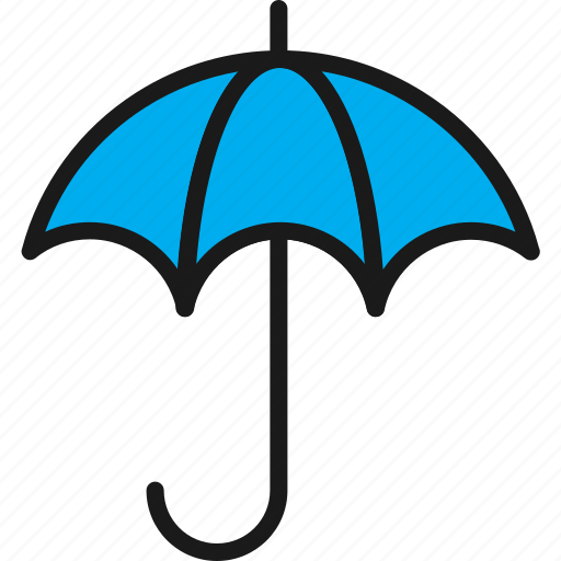 insurance, protection, security, umbrella icon
