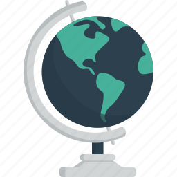 earth, geography, globe, map, travel, world icon