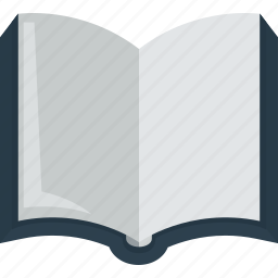 blank, book, lesson, read, study icon