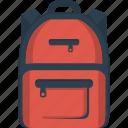 bag, bagpack, rucksack