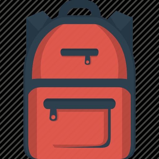 bag, bagpack, rucksack icon