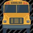 autobus, bus, coach, school, school bus, transportation