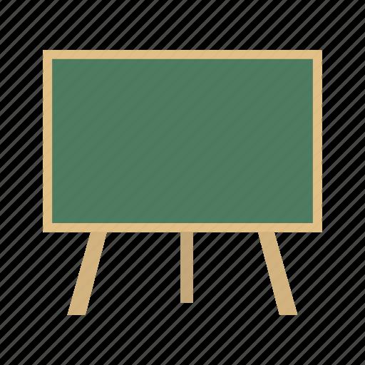 black board, board, chalk board, white board icon