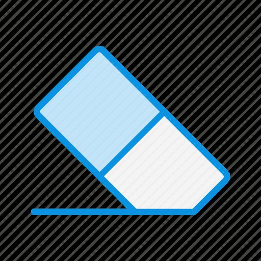eraser, remove, rubber icon