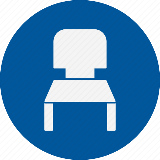 business, chair, furniture icon