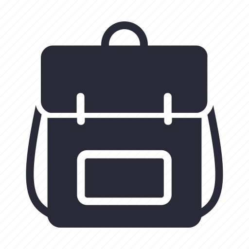 backpack, bag, carry icon