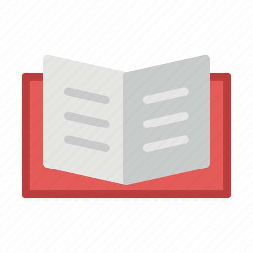 book, learning, open, reading, school, study icon