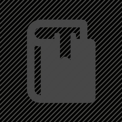 book, bookmark, education icon