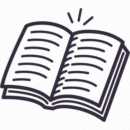 book, e-learning, education, reading, study icon