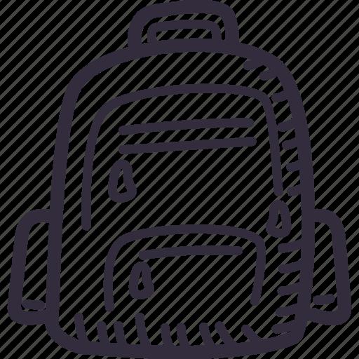 bag, case, education, school, schoolbag icon