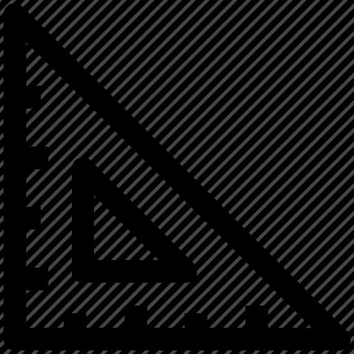 .svg, interface, math, mathematics, ruler, science, triangle icon