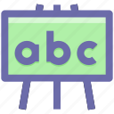 .svg, ad board, black board, board, education, school board icon