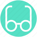 .svg, eye, glasses, optics, read, study, view icon