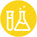 .svg, bottle, experiment, flask, health, medical, science icon