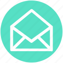 .svg, email, envelope, letter, open, open envelope, open letter icon