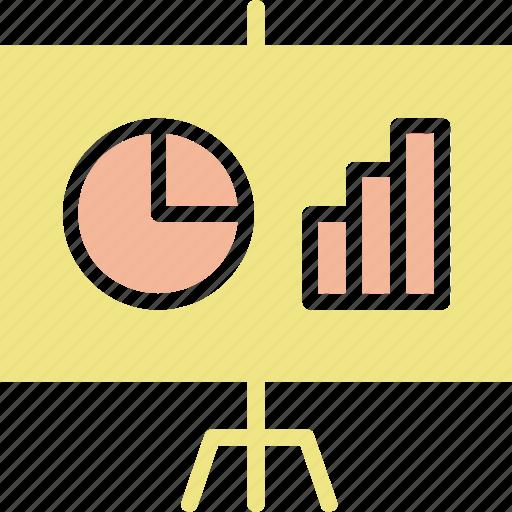 infographic, presentation, slide icon
