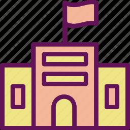 education, elementary, school icon