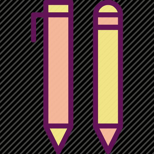 pen, pencil, stationary icon