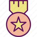 medal, trophy, winner icon